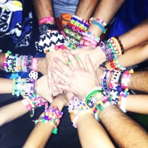 Squad on fleek... us Kandi Kids always have the best vibes.